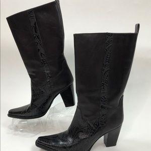 ANTONIO MELANI Boots Cassidy Brown Leather